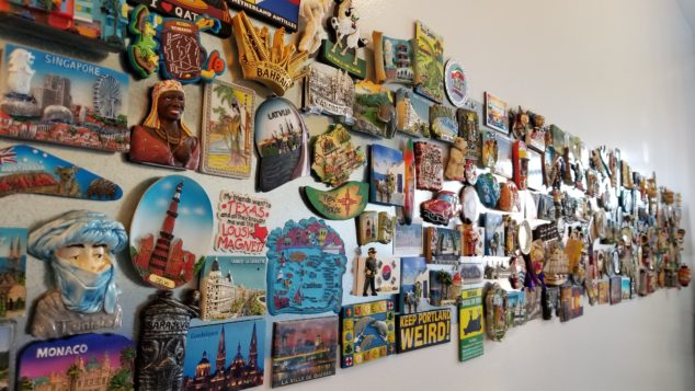 Magna's Magnet Wall – My DIY Display