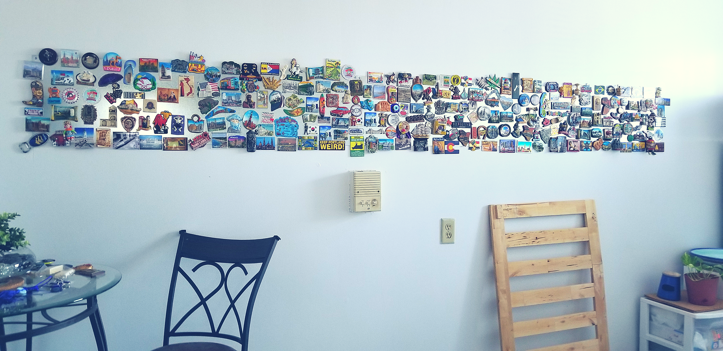 Magna's Magnet Wall - My DIY Display | The Official Website